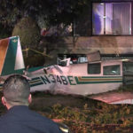 Cessna wreckage