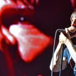 Founding member Anthony Kiedis sings with Red Hot Chili Peppers at KAABOO Del Mar.