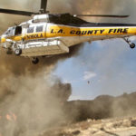 Fire-fighting helicopter