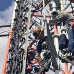 radio tower rescue