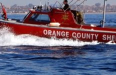 Orange County Sheriff patrol boat.