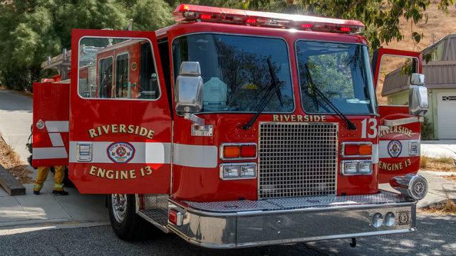 Riverside Fire Department truck