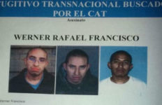 a wanted poster for the suspect