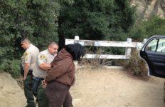 deputies making arrest