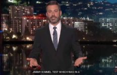Jimmy Kimmel calls Sen. Bill Cassidy of Louisiana a liar.