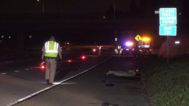 fatal crash on 5 freeway in Anaheim