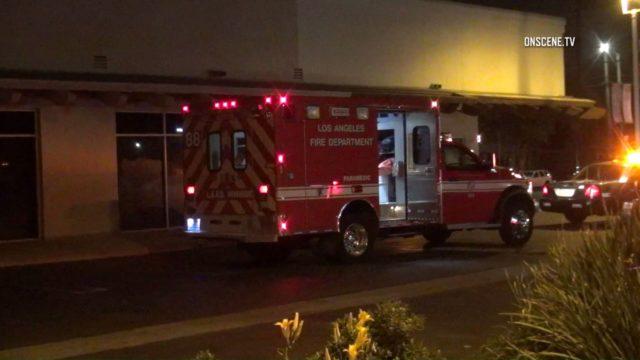 Van Nuys ambulance