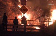 LA Tuna Fire in Sun Valley