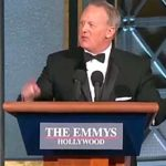 Sean Spicer at the 2017 Primetime Emmy Awards.