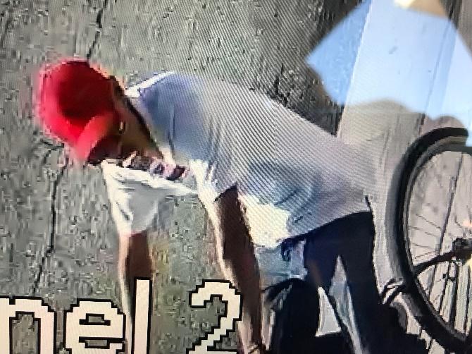 Suspected killer on bike