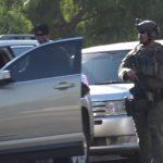 Heavily armed policeman