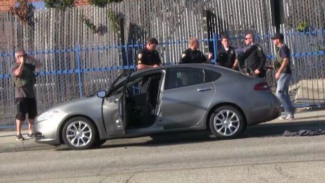 Aliso Viejo shooting suspect's car