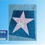 Bob Marley's damaged star on the Hollywood Walk of Fame shows sledgehammer marks.