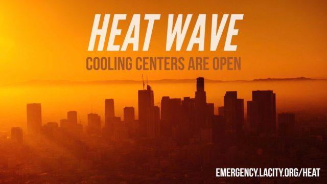 Heat wave warning