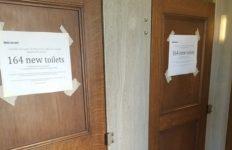 Toilets at City Hall