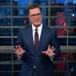 "Stephen Colbert delivers ""The Late Show"" monologue on Senate Republicans."