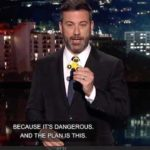 "Jimmy Kimmel on ""Jimmy Kimmel Live"" suggests viewers send President Trump their kids' fidget spinner."
