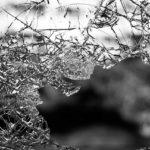 an example of a broken window.