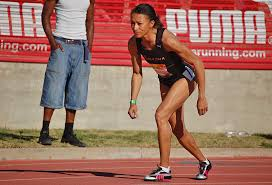 Alisa Harvey competes in the 2009 Mt. San Antonio College Relays 800-meter run.