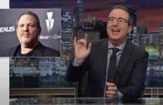 "John Oliver weighs in on Harvey Weinstein on ""Last Week Tonight."""