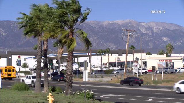 Santa Ana winds in IE