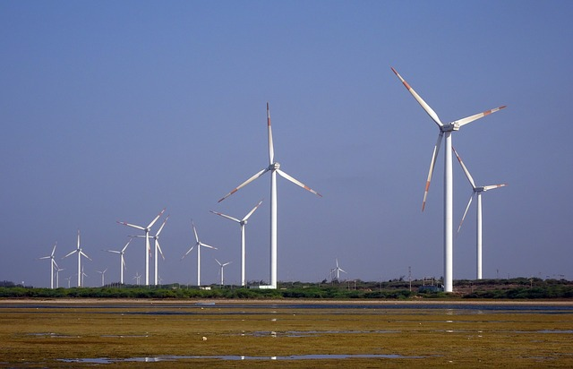 A wind farm. Photo from Pixabay.