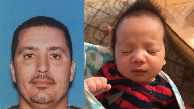 Amber Alert issued for baby abducted from Southern California