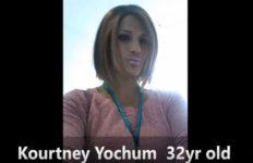Murder victim Kourtney Yochum. Photo from YouTube.