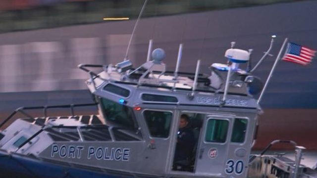 Los Angeles Port Police boat
