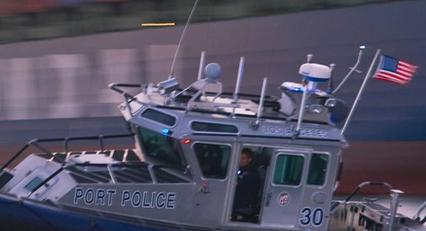 Floating body shock for college rowing team in wilmington for La port police