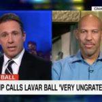 UCLA basketball dad LaVar Ball with CNN's Chris Cuomo.