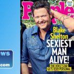 Blake Shelton on the cover of People magazine.