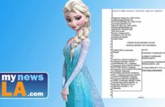 "Elsa from Disney's ""Frozen"" and Jamie Ciero lawsuit."