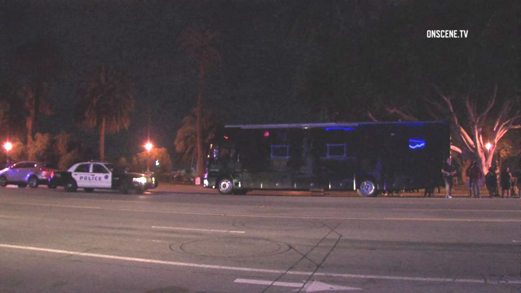 California party bus shooting leaves 1 dead, 3 wounded