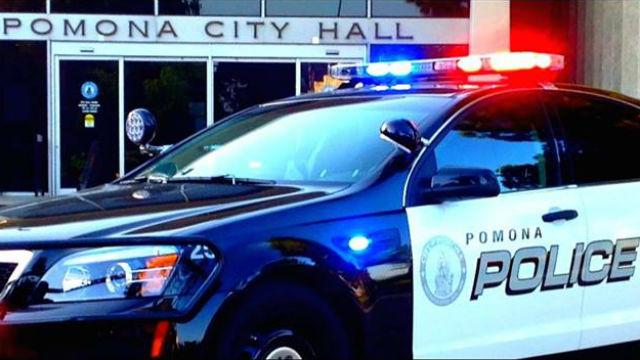 Pomona Police cruiser