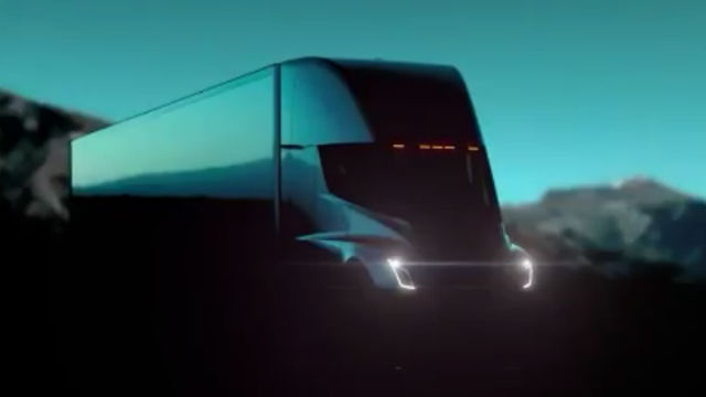 Tesla unveils semi truck and a new roadster