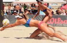 Alix Klineman is a beach volleyball rookie.
