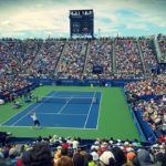 Players and fans at a tennis tournament similar to the kind held at Indian Wells. Photo from Pixabay.