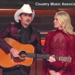 Brad Paisley and Carrie Underwood at Country Music Association Awards
