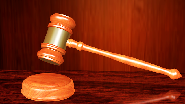 A judge's gavel. Photo from Pixabay.