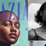 Lupita Nyong'o posted cover and real photos of her hair from the shoot.