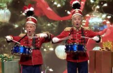 Martin Short (left) and Jimmy Fallon as The Little Trumper Boys.