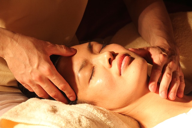An example of a person receiving a massage at a spa. Photo from Pixabay.