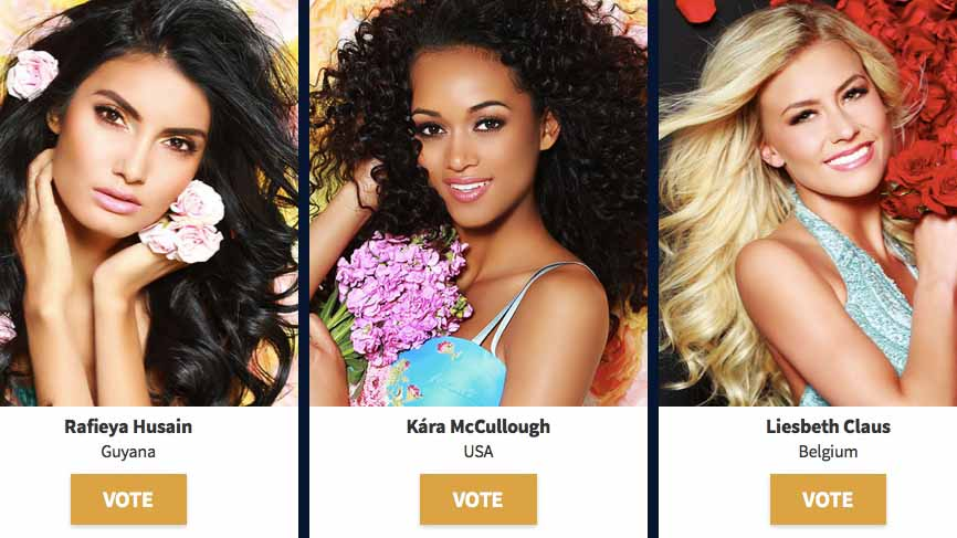 Deadline Nears For Voting Miss Usa Into Miss Universe Semifinals