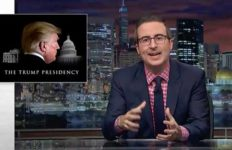 "John Oliver on ""Last Week Tonight."
