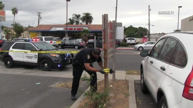 Inglewood police standoff