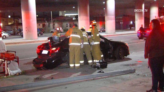 West LA double fatal crash