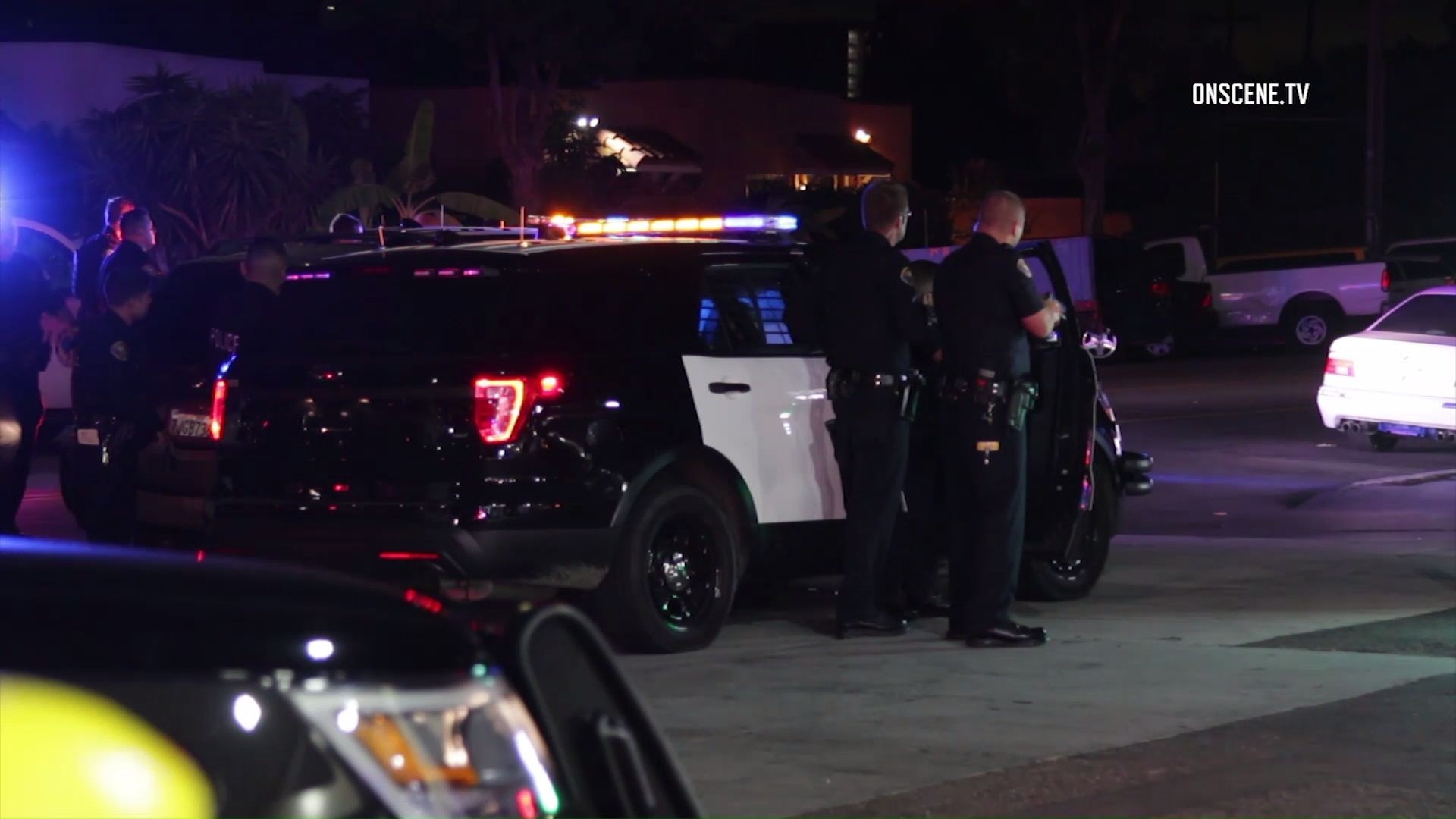 Carjacking suspect shot with rubber bullets after chase in Long Beach