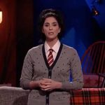 Sarah Silverman discussing Louis C.K. scandal.