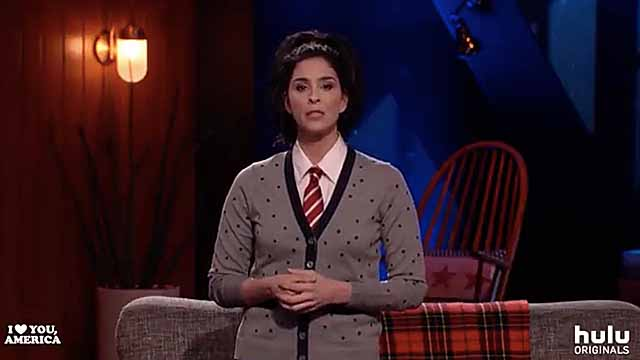 Sarah Silverman discussing Louis C.K. scandal